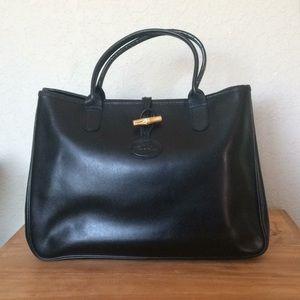 Longchamp Small Roseau Tote Bag